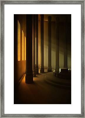 Empty Room Framed Print by Svetlana Sewell