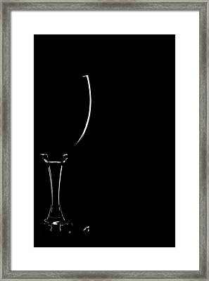 Empty Space Framed Print by Gert Lavsen