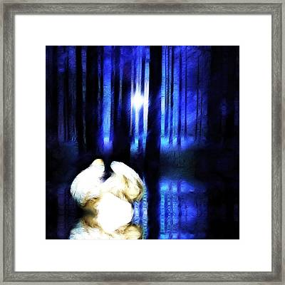Enchanted Forest Framed Print by Sharon Lisa Clarke