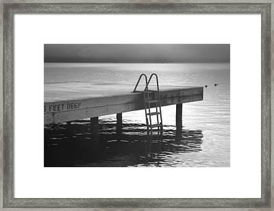 End Of Summer Framed Print by Steven Ainsworth