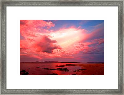 End Of The Day Framed Print by Paul Svensen