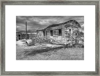 The End Framed Print by Bob Christopher