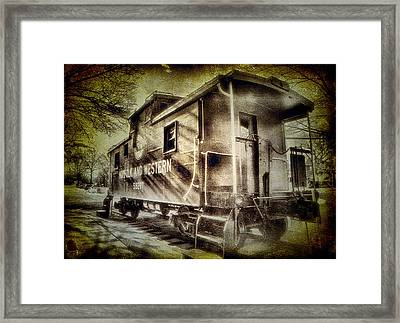 End Of The Line II Framed Print by Steven Ainsworth