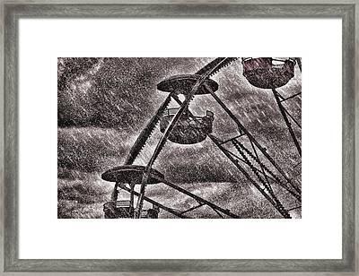 End Of The Season Framed Print by Bob Orsillo