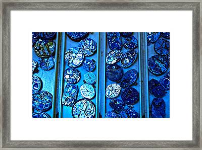 End Of Time Blues Framed Print by Frank SantAgata