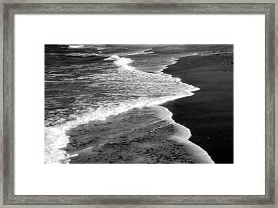 Endings Framed Print by Christy Usilton