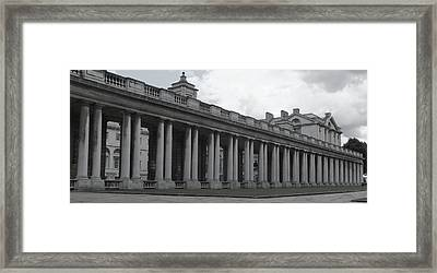 Endless Columns Framed Print by Anna Villarreal Garbis
