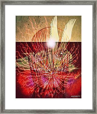 Endogenous Factors Are Bursting Of Great Lessons Framed Print by Paulo Zerbato