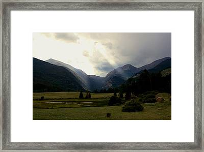 Endovalley Twilight Framed Print by Doug Hubbard