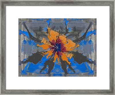 Energized Framed Print by Tim Allen