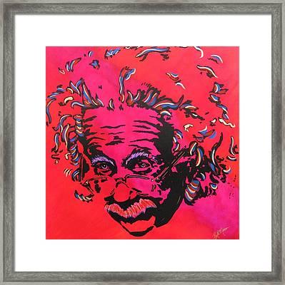 Energy Of Life Framed Print by Bill Manson