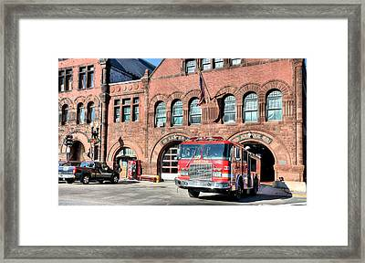 Engine 33 Framed Print by JC Findley