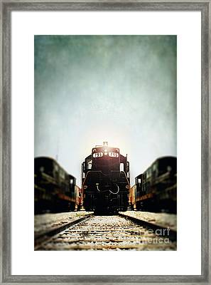 Engine795 Framed Print by Stephanie Frey