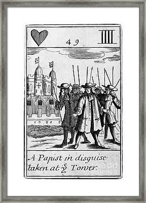 England: Popish Plot Framed Print by Granger