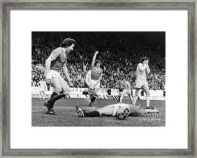 England: Soccer Game, 1977 Framed Print by Granger