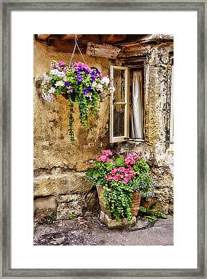 English Cottage Framed Print by Wendy White