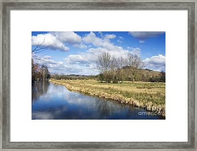 English Countryside Framed Print by Jane Rix