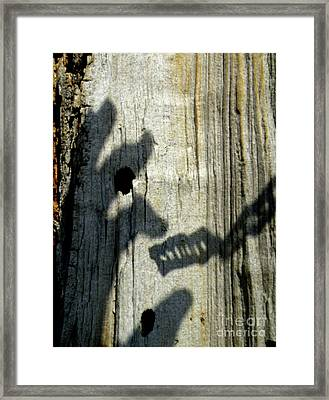 Enmity Between Us Framed Print by Joe Jake Pratt