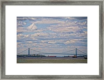 Enterprise 2 Framed Print by S Paul Sahm