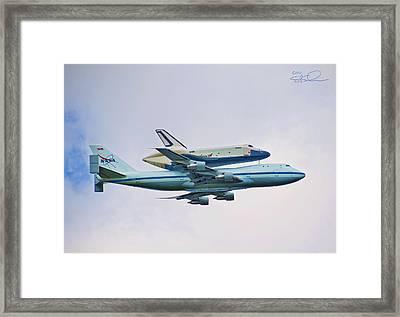 Enterprise 5 Framed Print by S Paul Sahm