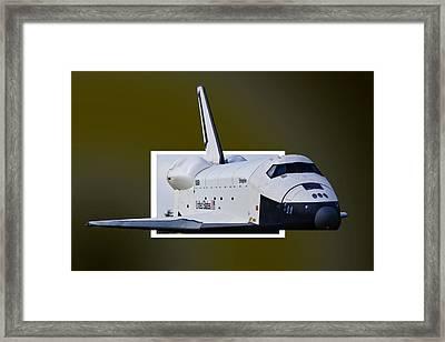 Enterprise Framed Print by Lawrence Ott