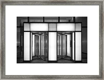 Entrance Framed Print by Thomas Splietker