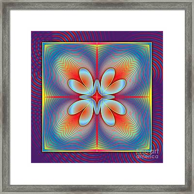 Ephemeral 1 Framed Print by Walter Oliver Neal