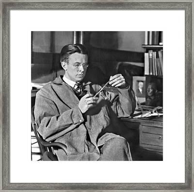 Ernest Orlando Lawrence 1901-1958, Won Framed Print by Everett
