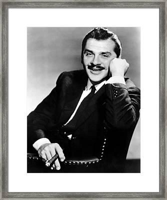 Ernie Kovacs, Ca. Mid-1950s Framed Print by Everett