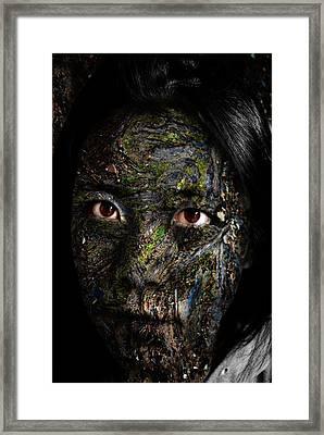 Erosion Framed Print by Christopher Gaston