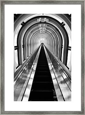 Escalation Framed Print by Dean Harte