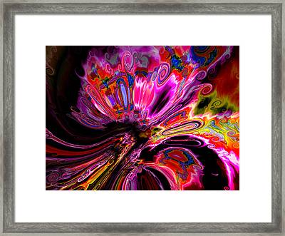 Escape By Agreement Framed Print by Claude McCoy