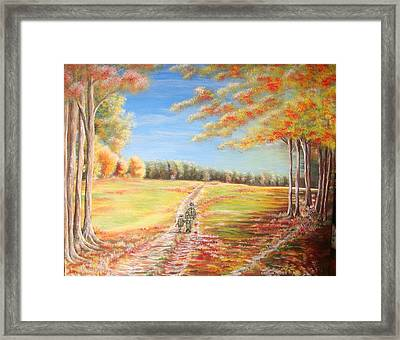 Escape Framed Print by Cecilia Putter