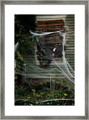 Escaping The Web Framed Print by LeeAnn McLaneGoetz McLaneGoetzStudioLLCcom