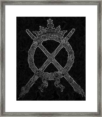 eternal flame I Framed Print by Phil Bongiorno