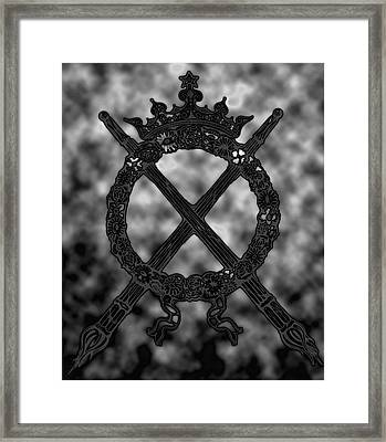 eternal flame II Framed Print by Phil Bongiorno