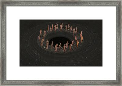 Eternity Ring Framed Print by Eric Kempson
