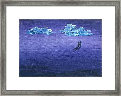 Eternity Framed Print by Sandy Tracey