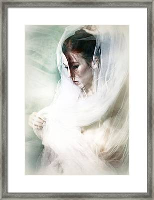 Etherea Framed Print by Spokenin RED