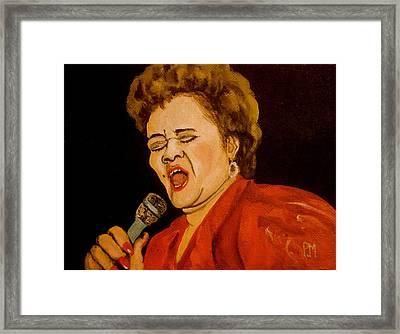 Etta II Framed Print by Pete Maier