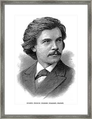Eugen Francis C. Dalbert (1864-1932) Framed Print by Granger