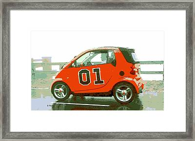 European General Lee Framed Print by George Pedro