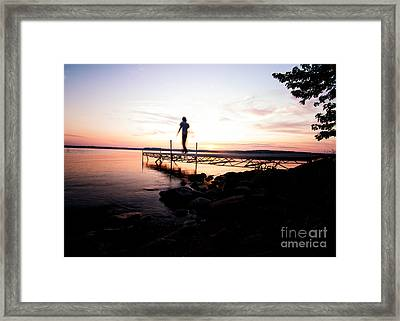 Evanesce - I'm Not Here Framed Print by Venura Herath
