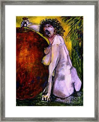 Eve Framed Print by Eszter Gyory