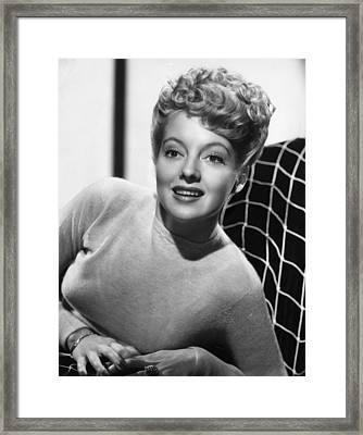 Evelyn Keyes, 1946 Framed Print by Everett