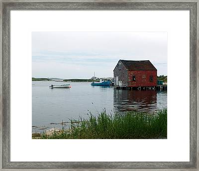 Evening At Prospect Framed Print by George Cousins