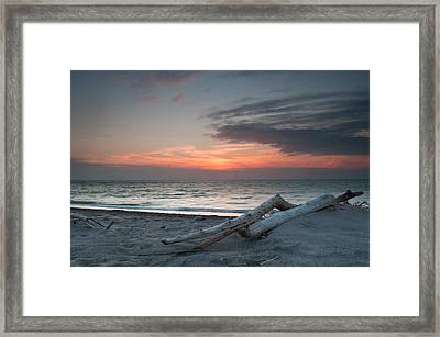 Evening Calm Framed Print by At Lands End Photography