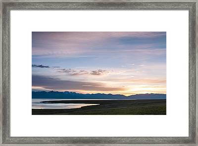 Evening Framed Print by Konstantin Dikovsky