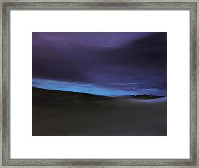 Evening Light Framed Print by Michael Marrinan