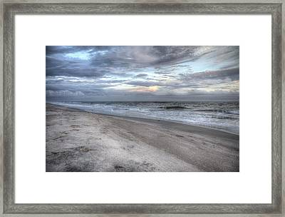 Evening Paradise Framed Print by Betsy Knapp